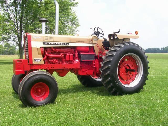 International 56 And 26 Series Restored Tractors  U2013 1456