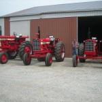 Farmall 656, Farmall 1456, Farmall 806 Hi Crop 1