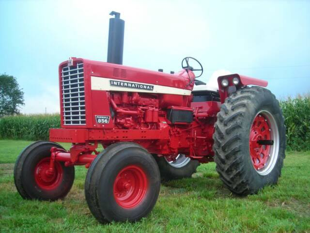 Ih 856 Tractor : International and series restored tractors