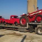 International 1026 MFWD, 1947 KB2, 1949 KB5