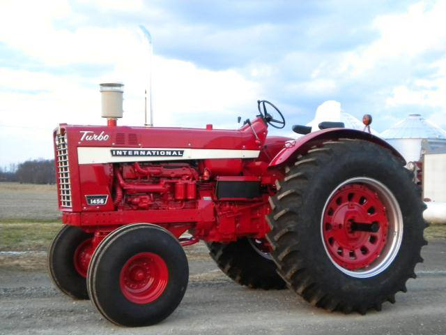 Restored Ih Tractors : International and series restored tractors