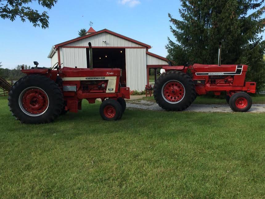 Restored Ih Tractors : International series restored tractors
