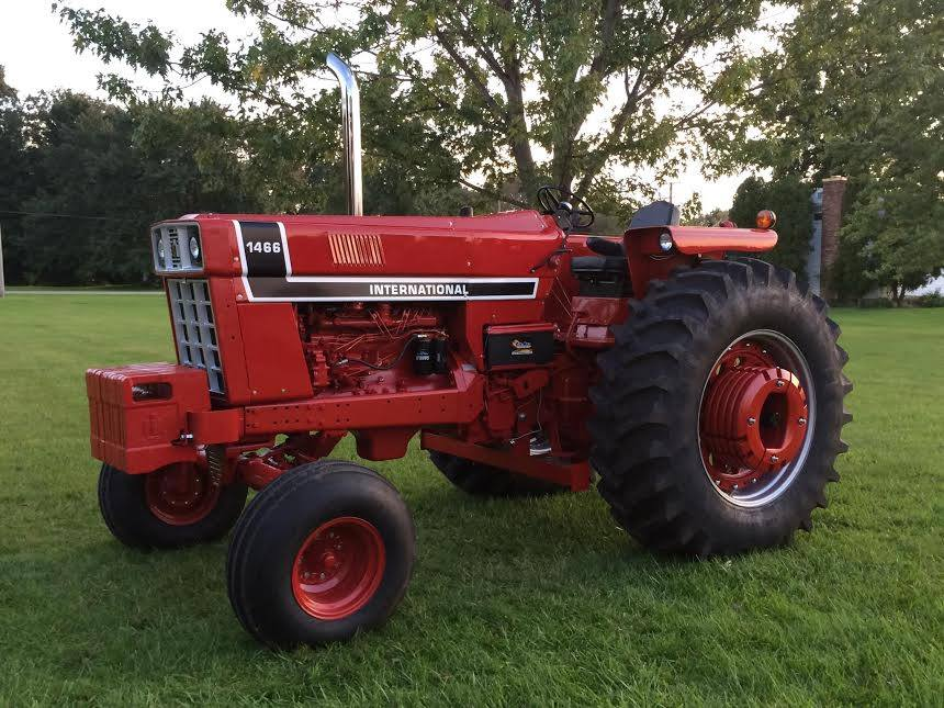1066 International Tractor : International series restored tractors