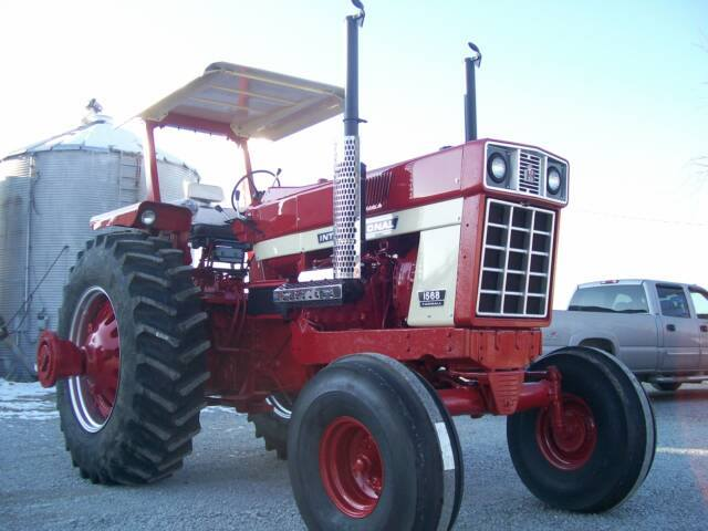 Restored Ih Tractors : International series restored tractors and
