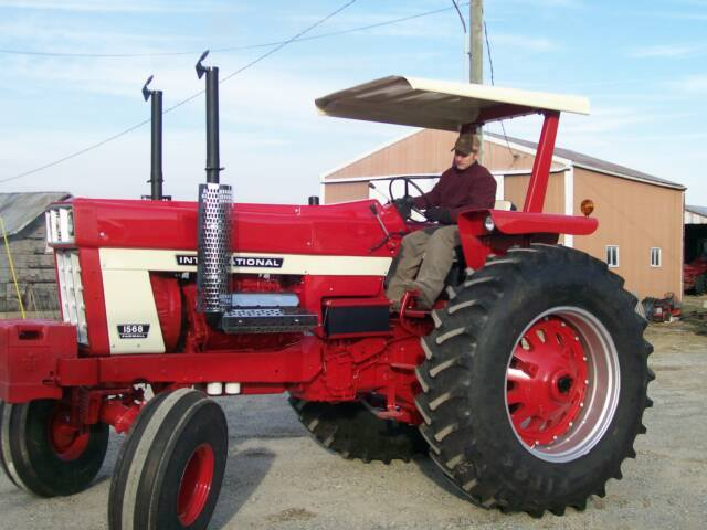 Pulling Tractors For Sale >> International 68 Series Restored Tractors – 1468 and 1568 ...
