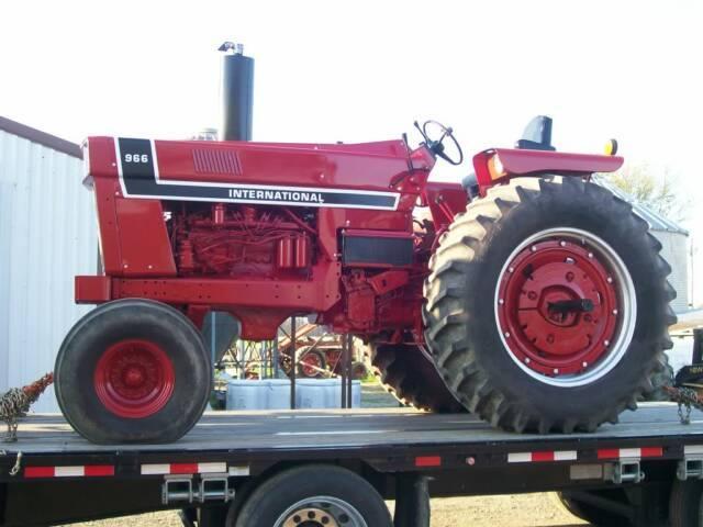 966 International Tractor : International series restored tractors