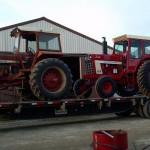 International 1026 MFWD and International 1466