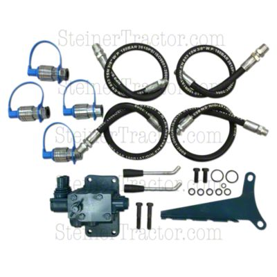 Ford Double Spool Double Acting Hydraulic Remote Valve Kit